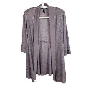 R&M Richards Womens Open Front Jacket Size 10
